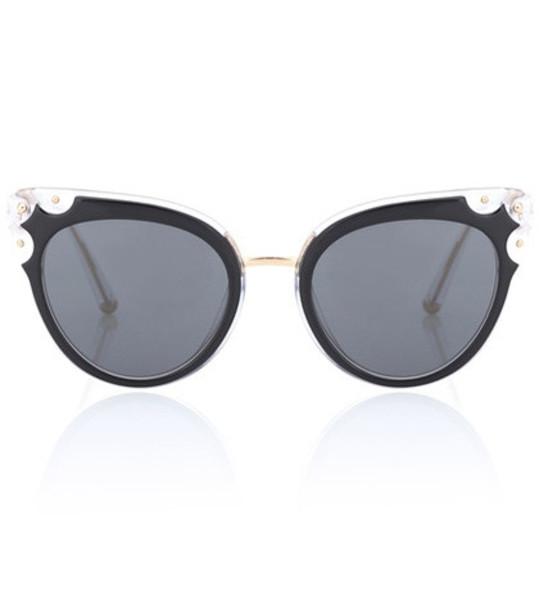 Dolce & Gabbana Acetate sunglasses in black