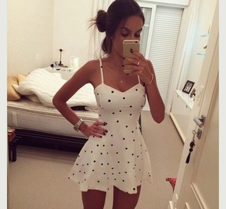 dress polka dots cute