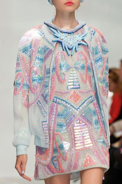 a0e5980e440 jumpsuit kawaii style pastel fashion jacket dress cute dress pink  holographic beautiful girly purple glitter pop