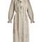 Tulsi ash striped linen dress