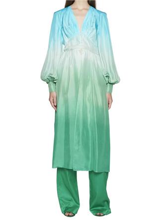 gown multicolor dress