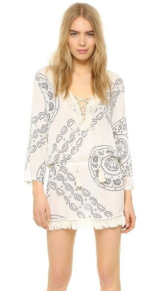 tunic cream top