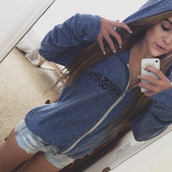 sweater,acacia brinley,blonde hair,shorts