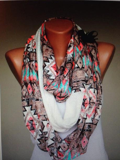 scarf tribal infinity scarf
