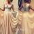Champagne A-line V neckline Chiffon Long Prom Dresses, Formal Dress - 24prom