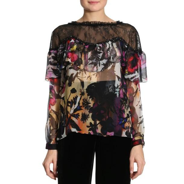 Blumarine t-shirt shirt t-shirt women multicolor top