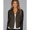 Blank nyc vegan leather two-tone moto jacket in peg boy peg boy - zappos.com free shipping both ways