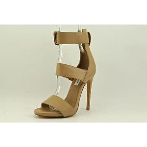 Madden Mysterii Womens Size 7 5 Nude Dress Sandals Shoes No Box | eBay