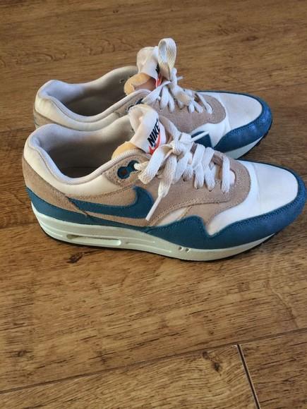 shoes nike blue shoes air max air max 1 nike air max 1