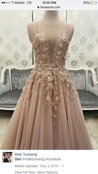dress man tumag nude dress gown ball gown dress prom dress