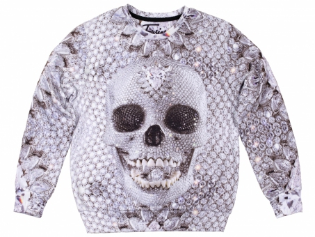 Original SEXY SWEATER DIAMOND SKULL | Fusion® clothing!