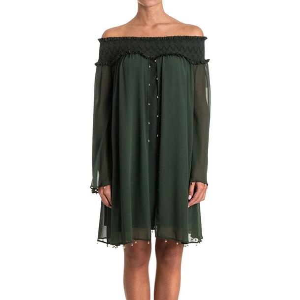 Versace Collection dress women green