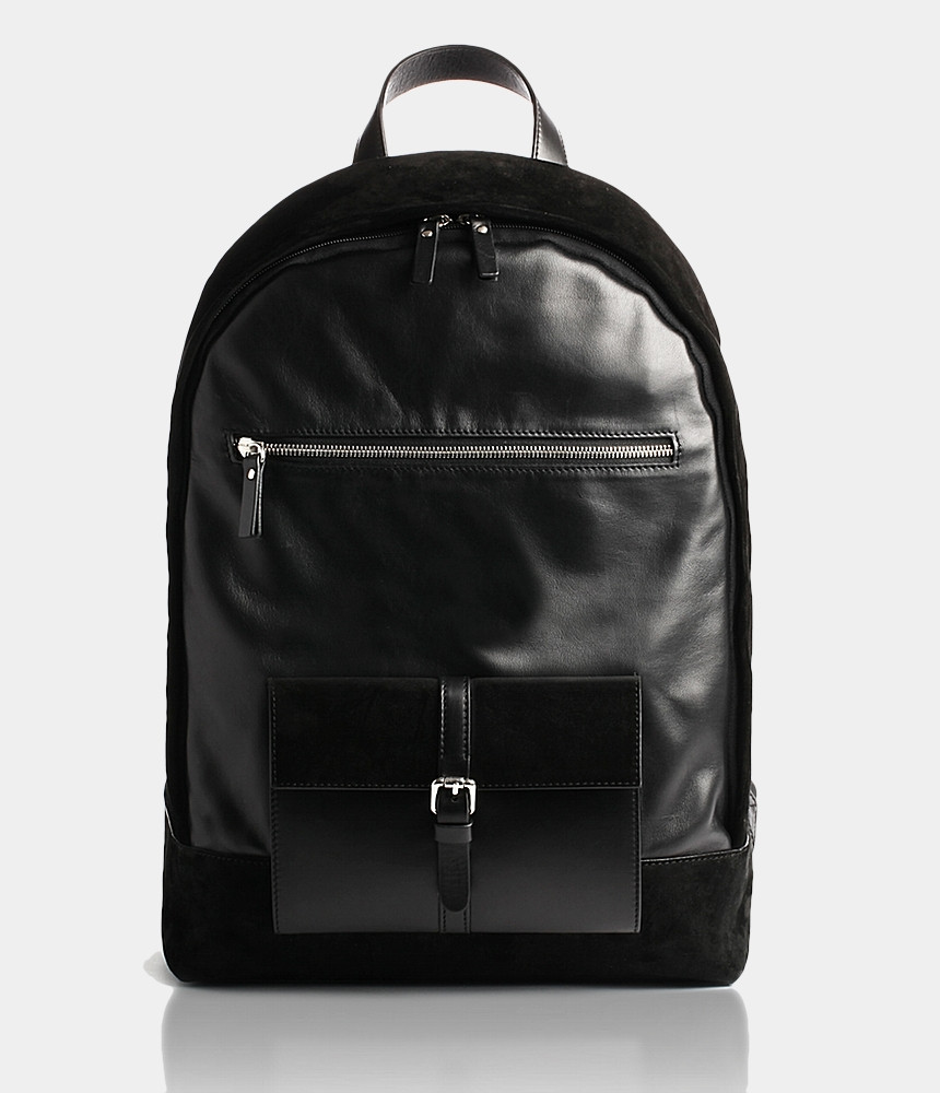 Unisex leather backpack for all your idevices