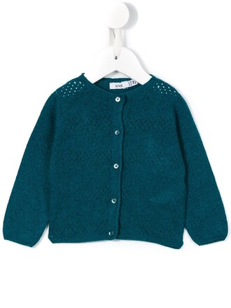 cardigan girl blue sweater