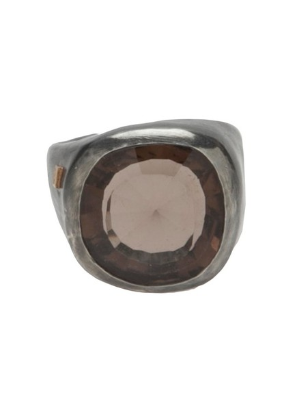 jewels quartz silver ring rosa maria smokey quartz silver ring