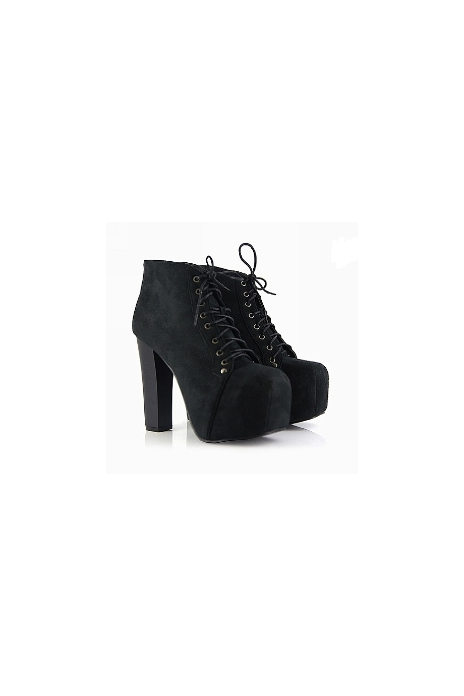 Black Platform Ankle Boots Shop Jeffrey Campbell Lita Inspired ...
