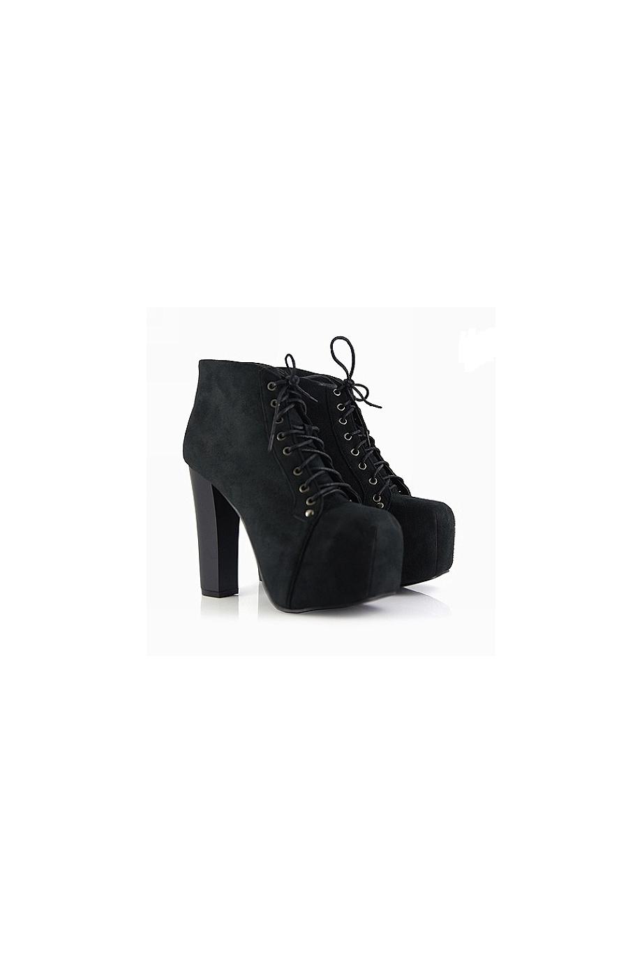 Black Platform Ankle Boots Shop Jeffrey Campbell Lita Inspired