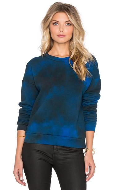 LACAUSA sweatshirt vintage blue