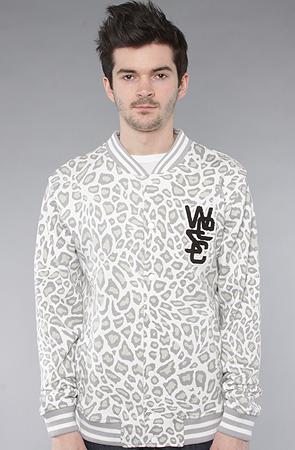 WeSC The Warren Sweatshirt in White Leopard : Karmaloop.com - Global Concrete Culture