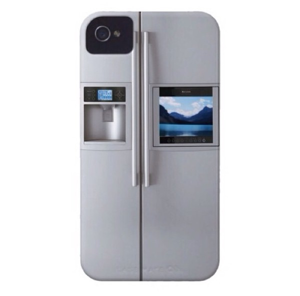 bag iphone cover mini fridge silver