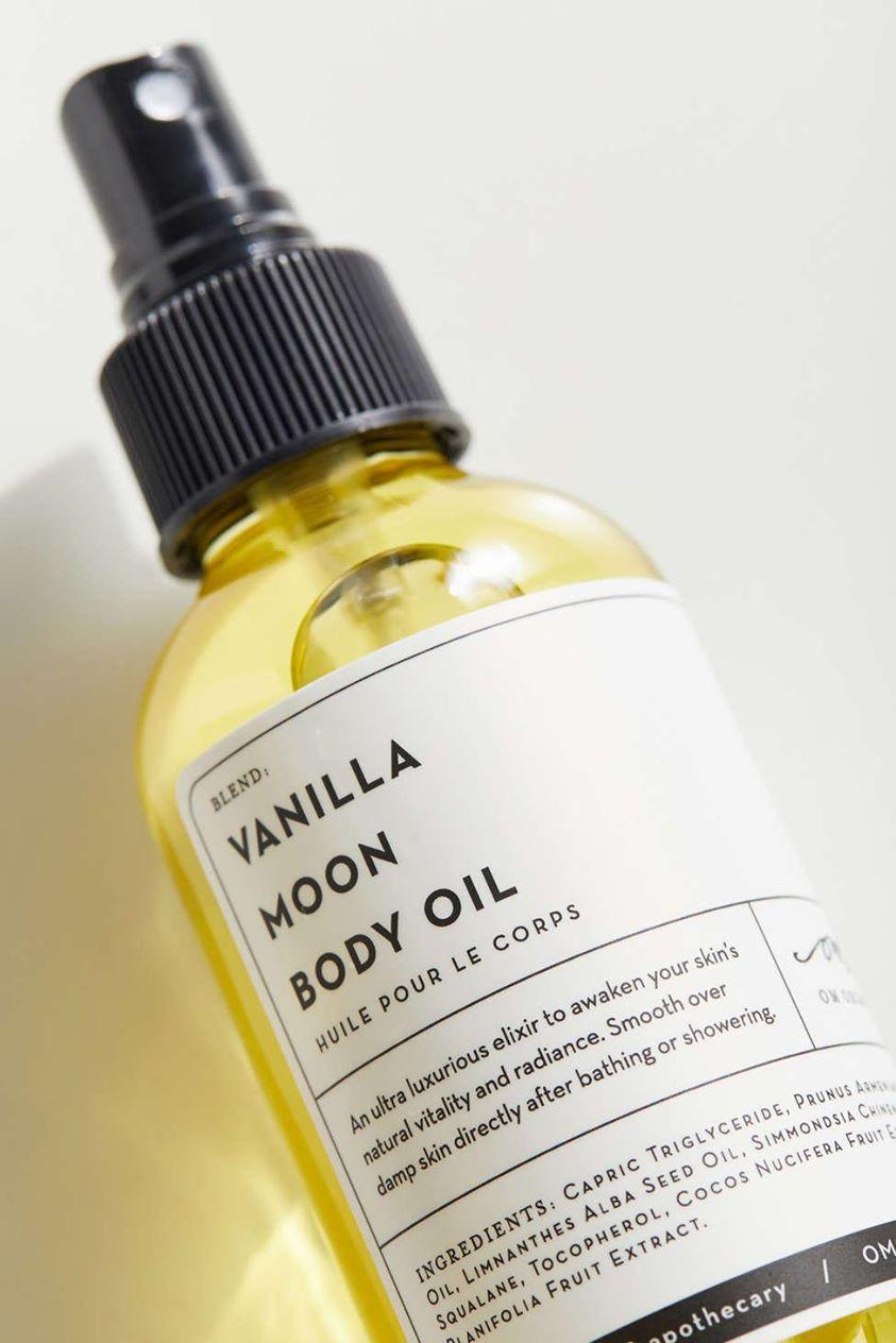 Om Organics Vanilla Moon Body Oil