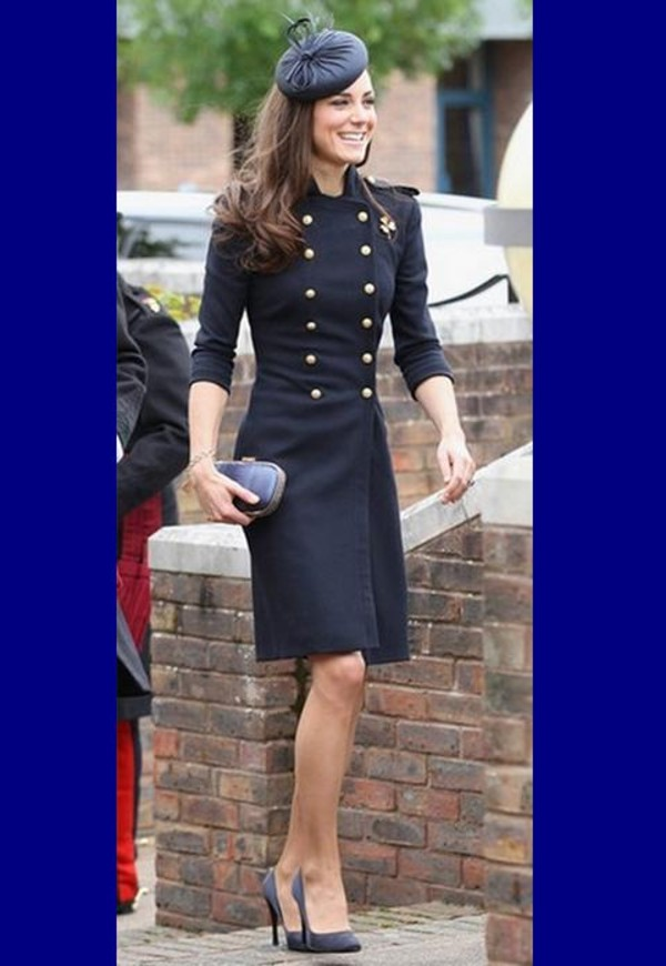 Elegant Celebrity Style Wind Coat(Kate Middleton,Long ...