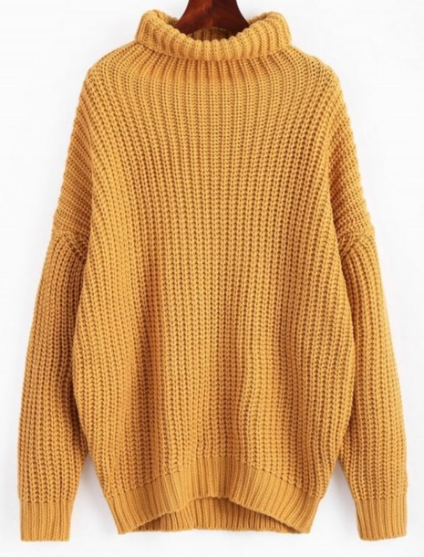 sweater girly sweatshirt jumper mustard mustard sweater knitwear knit knitted sweater