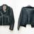 Leather biker jacket - Pop Sick Vintage