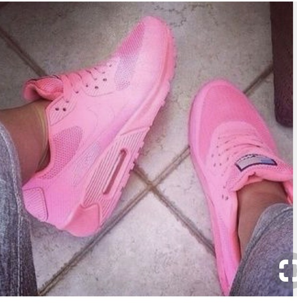 shoes pink nike air max