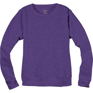 Hanes Women's Fleece Crew Sweatshirt: Women : Walmart.com