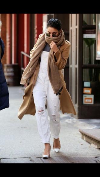 jacket coat trench coat fashion vanessa hudgens