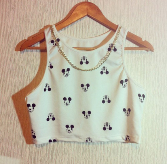 mickey mouse t-shirt mickey mouse crop top mickey mouse con cadena top mickeu mouse top mickey mouse mickey mouse argentina