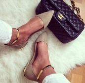 shoes,suede,cream,gold,sandals,women,aldo,office outfits,feet,metal