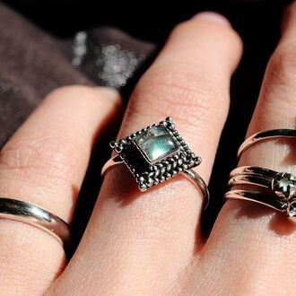 jewels shop dixi labradorite ring sterling silver boho bohemian