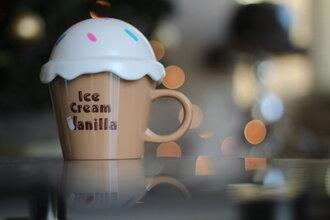 jewels mug ice cream vanilla cup cute