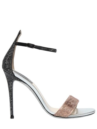 sandals satin gold shoes