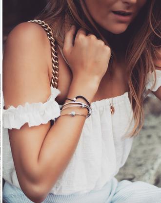 jewels tumblr bracelets stacked bracelets stacked jewelry silver bracelet accessories accessory