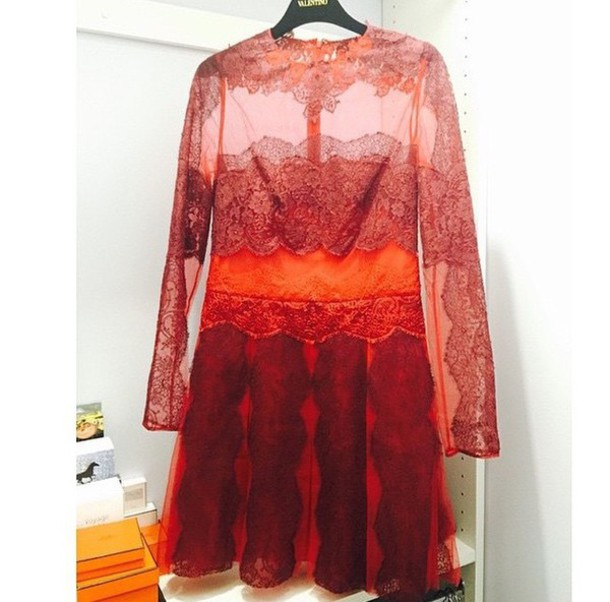 dress 50 shades of red party Valentino red dress red party outfits
