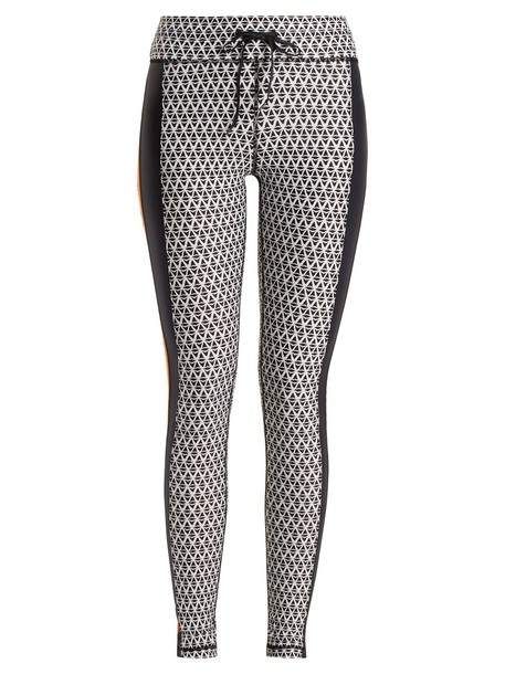 leggings print black pants