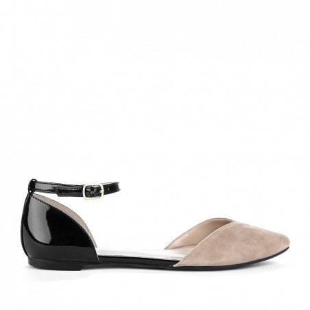 Sole Society - Sweetheart flats - Hadley - Adobe Black