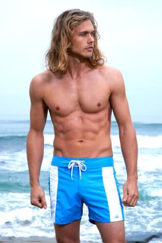 shorts mens mens swimwear sauvage swimwear blue bikiniluxe