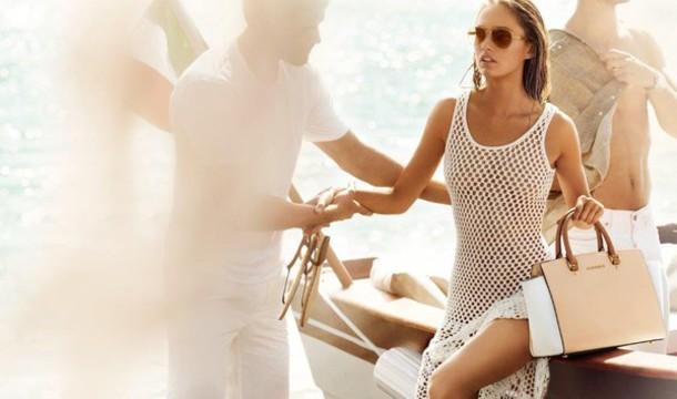 Dress White Fishnet Dress