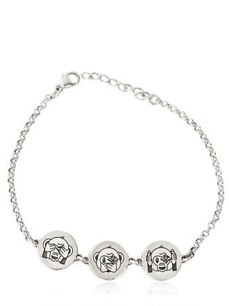 silver bracelet monkey silver jewels
