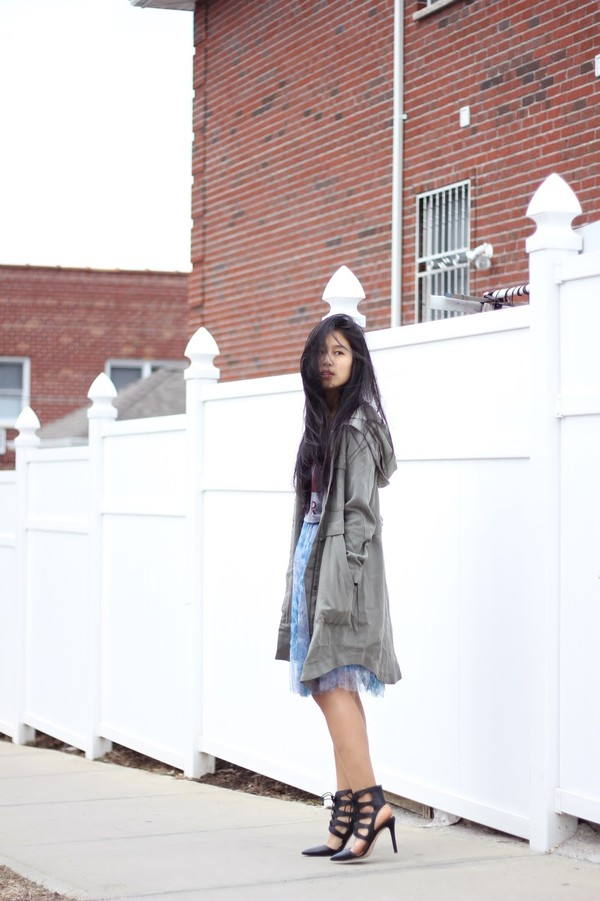 kristenglam t-shirt sweater skirt coat shoes
