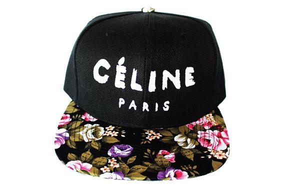 Celine Paris Snapback from Lavish Snapbacks. by LavishSnapbacks