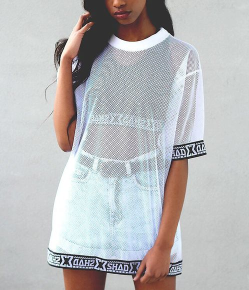 cleopatra dress women clothes for women mixed girl shoes shirt dope blouse see through oversized sweater mesh top white mesh design oversized