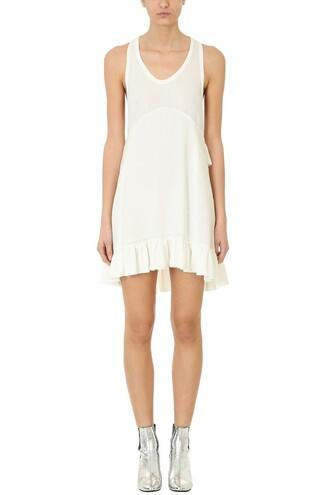 dress racerback white