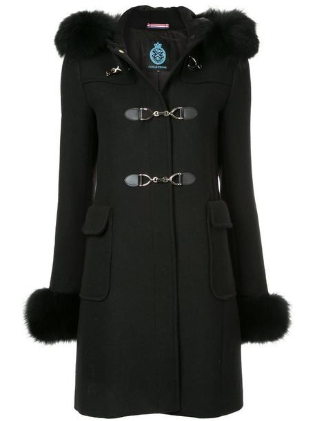 Guild Prime coat duffle coat women black wool