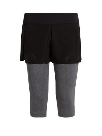 leggings cropped black grey pants