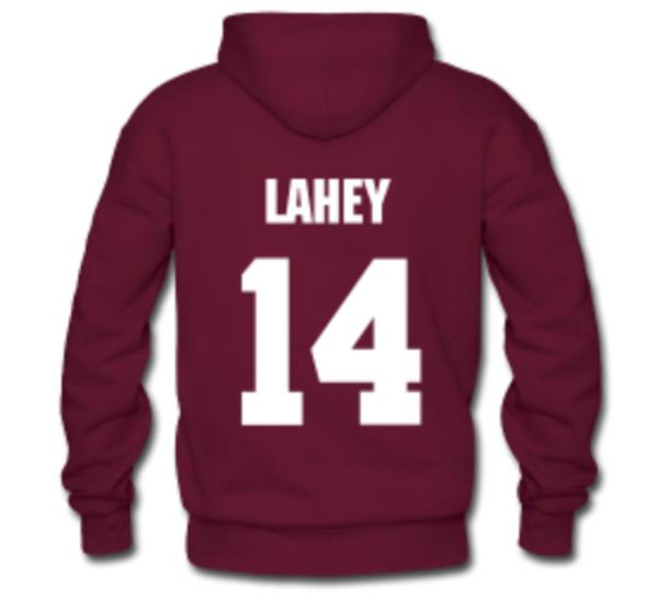 sweater teen wolf daniel sharman hoodie lahey isaac 14 lacrosse isaac lahey